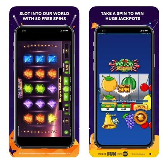 Application mobile Partycasino