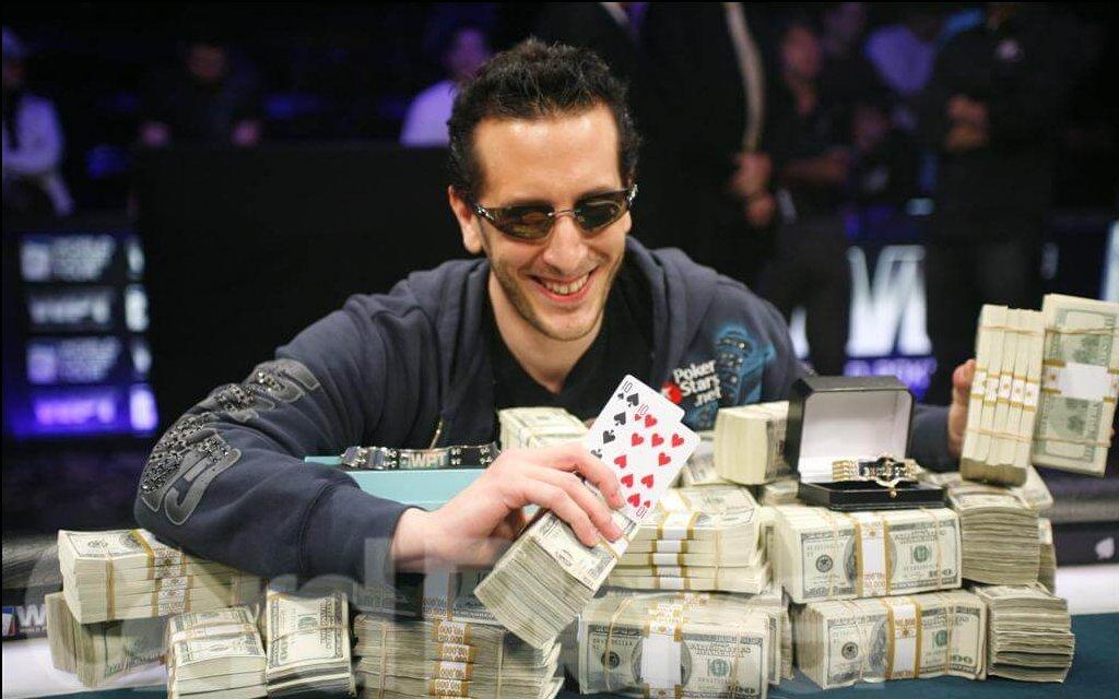 joueur gagner poker roulette casino