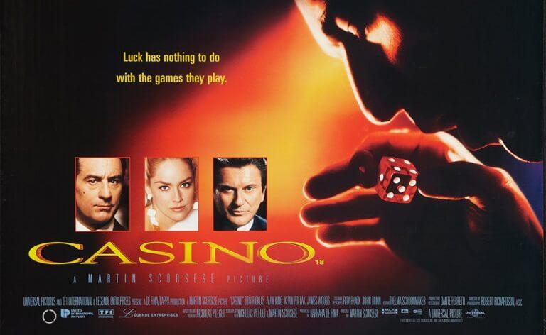 L'un des posters du film Casino 1995