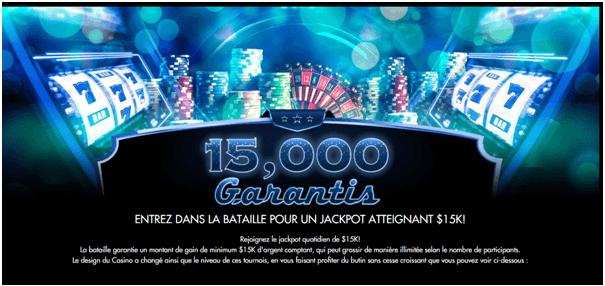 Casino Moons- plafonnent à 250 000 $