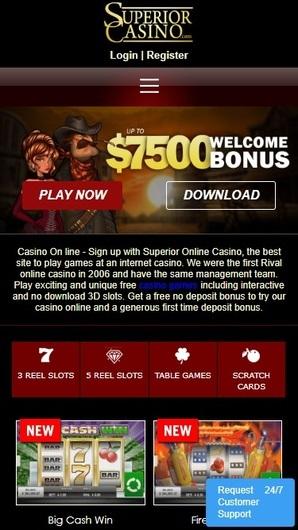 Casino supérieur sur Android