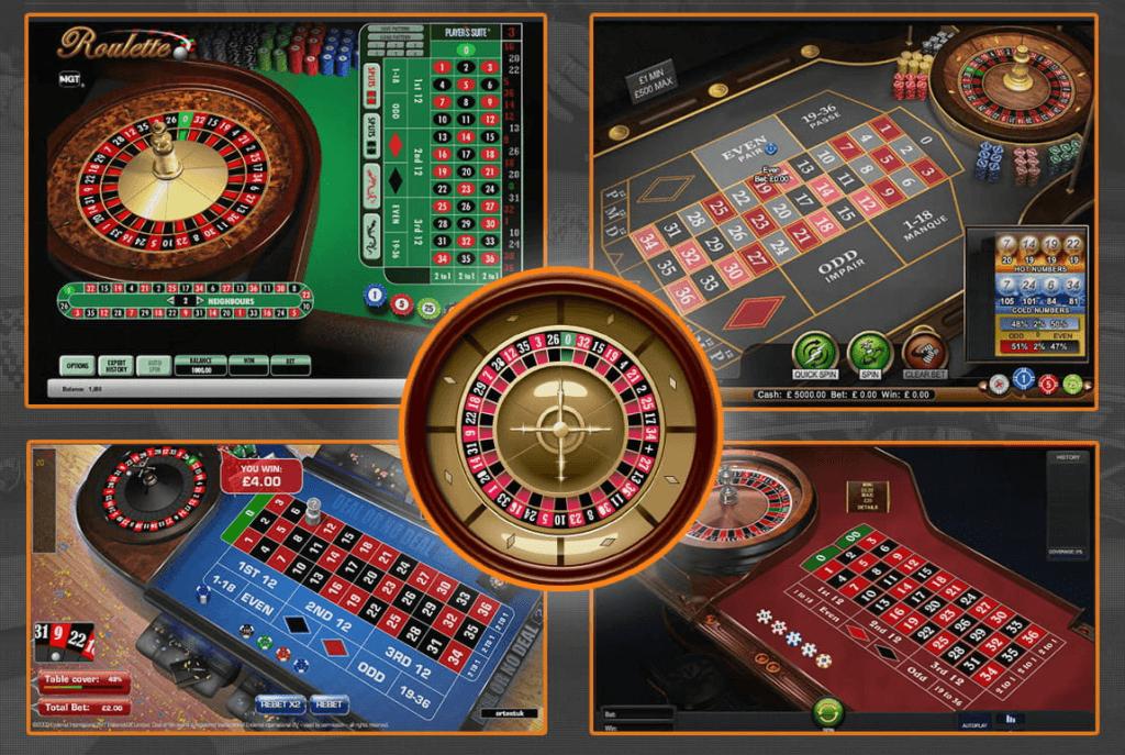 Il existe de nombreuses variantes de roulette disponibles pour jouer dans les casinos en ligne
