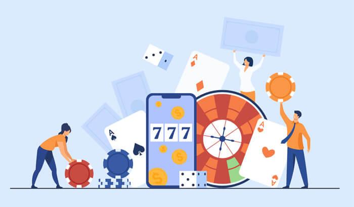 Jeux de hasard en ligne