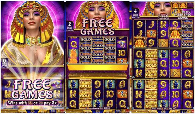 Jeux gratuits de machine à sous Cleopatra Gold