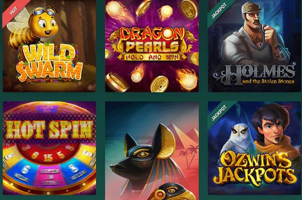 logiciels de casinos en ligne