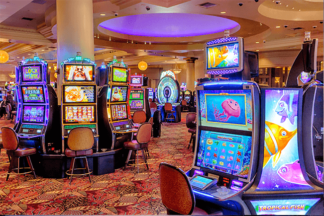 Machines à sous dans les casinos en France