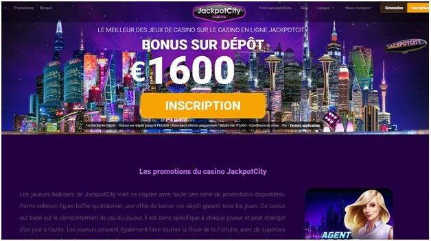 Offres de bonus Jackpot City Casino