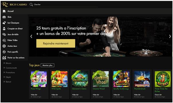 Rich casino fr-Bonus de bienvenue