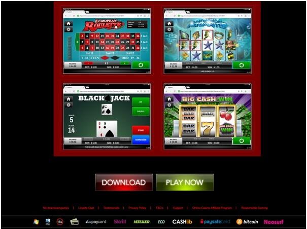 Téléchargez ou jouez aux casinos sur Android