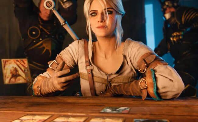 Un personnage virtuel dans un jeu vidéo