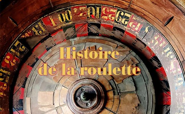 Histoire de la roulette