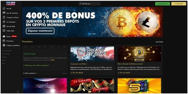 viv mon - bonus bitcoin au casino jouer aux machines à sous